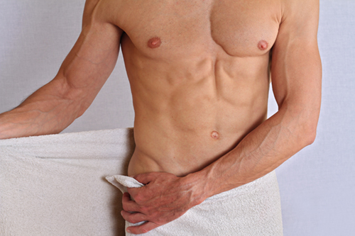 Men's brazilian waxing